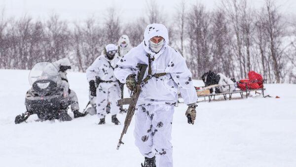 Ruski vojnici na vežbi u Murmanskoj oblasti - Sputnik Srbija