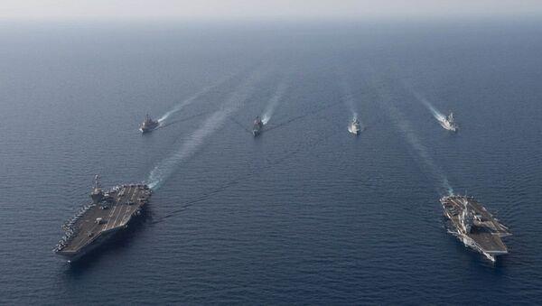 Француски, амерички и дански бродови патролирају Црвеним морем - Sputnik Србија