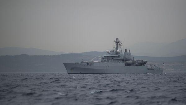 Британски војни брод - Sputnik Србија
