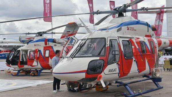 Лаки вишенаменски хеликоптер Ансат - Sputnik Србија
