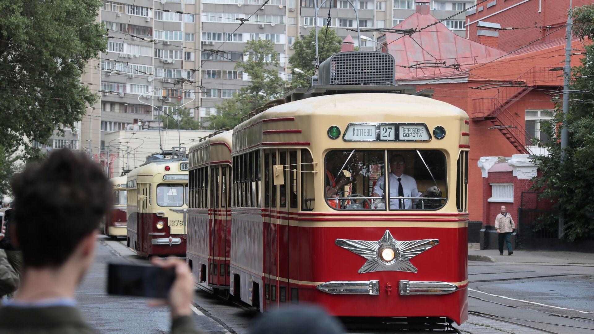 Parada tramvaja u Moskvi - Sputnik Srbija, 1920, 07.10.2021