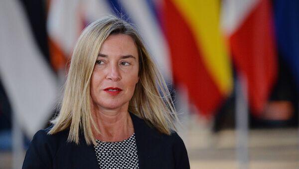 Šefica evropske diplomatije Federika Mogerini - Sputnik Srbija
