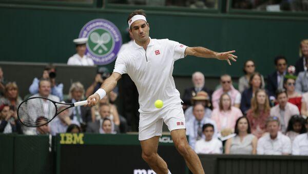 Rodžer Federer u finalu Vimbldona - Sputnik Srbija