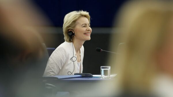 Ursula fon der Lajen - Sputnik Srbija