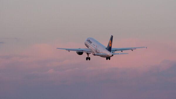 Putnički avion Erbas A319 nemačke kompanije Lufthansa - Sputnik Srbija
