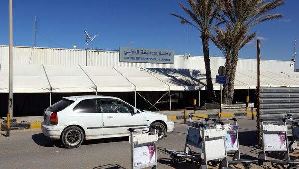 Međunarodni aerodrom Mitiga u glavnom gradu Libije Tripoliju - Sputnik Srbija