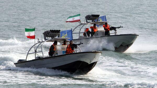 Војни чамци Корпуса чувара исламске револуције  - Sputnik Србија
