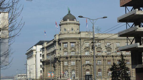 Zgrada Vlade Republike Srbije - Sputnik Srbija