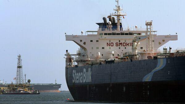 Нафтни танкер Стена балк у калифорнијској луци - Sputnik Србија