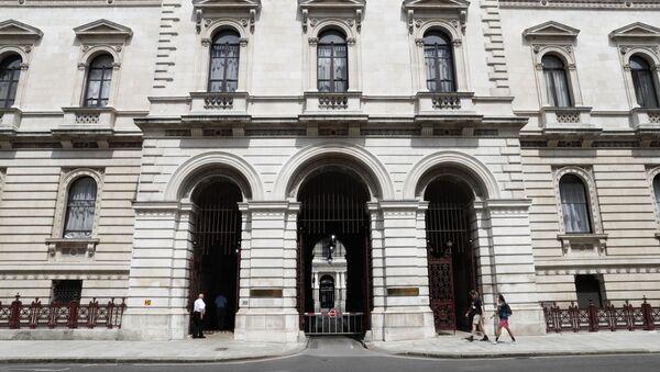 Zgrada britanskog Ministarstva spoljnih poslova u Londonu - Sputnik Srbija