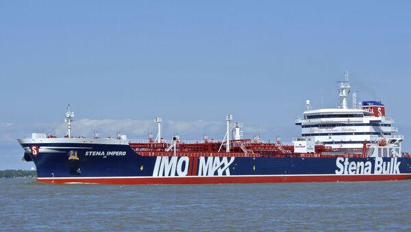 Британски нафтни танкер Стена имперо - Sputnik Србија