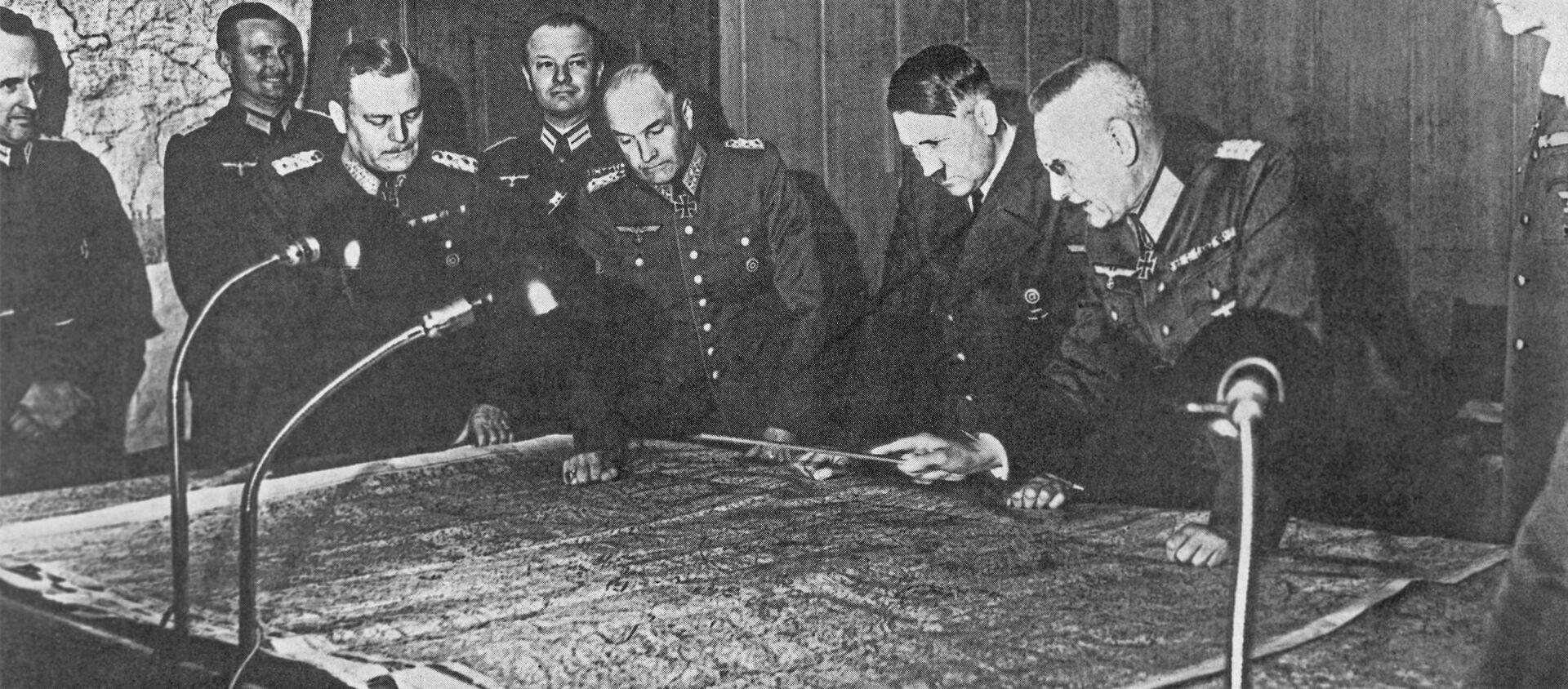 Седница немачког Генералштаба, уочи операције Барбароса - Sputnik Србија, 1920, 21.06.2021