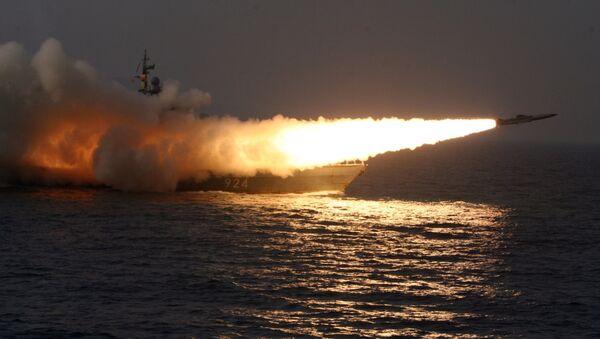 Лансирање противбродске ракете Москит - Sputnik Србија