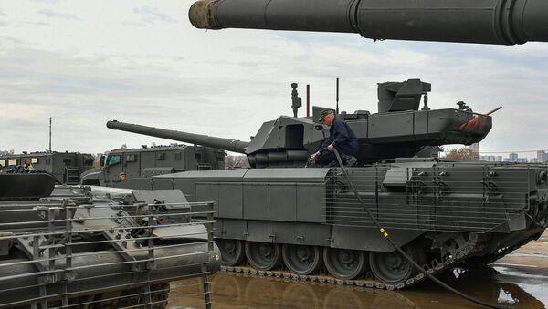 Руски тенк Т-14 Армата - Sputnik Србија