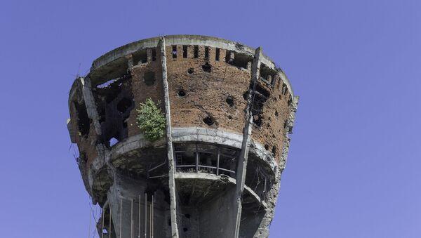 Водени торањ у Вуковару, симбол страдања и крвавог распада СФРЈ - Sputnik Србија