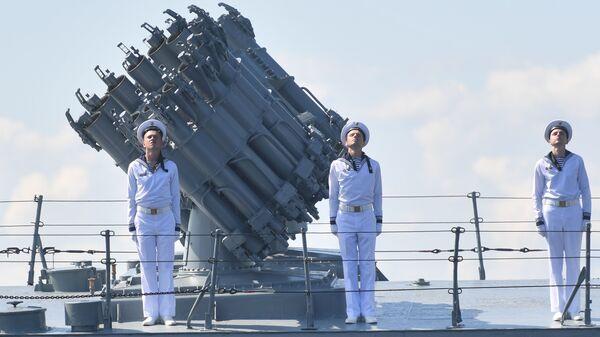 Ruski mornari tokom vežbe u Kronštatu - Sputnik Srbija
