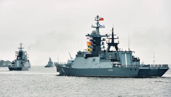 """Ruski brod """"Stojki"""" u Kronštatu - Sputnik Srbija"""