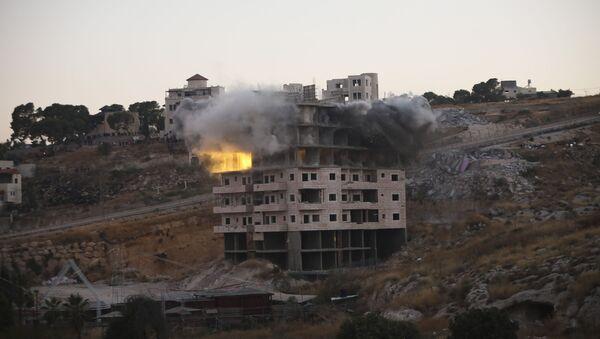 Izraelske snage ruše palestinsko naselje Sur Baher u Istočnom Jerusalimu - Sputnik Srbija