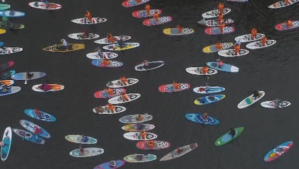 Surfing u Sankt Peterburgu - Sputnik Srbija