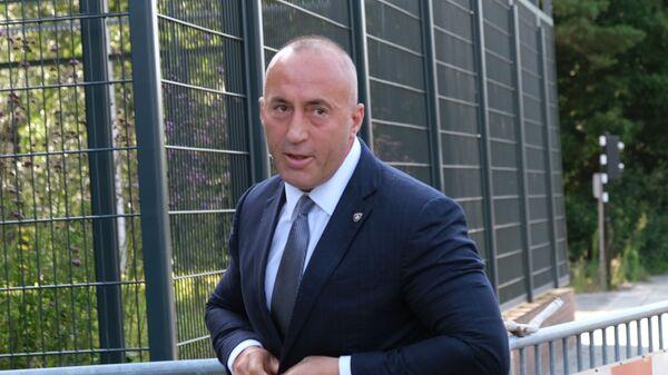 Ramuš Haradinaj u Hagu - Sputnik Srbija