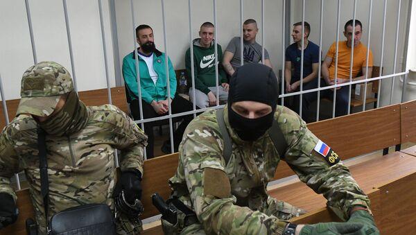 Украјински морнари ухапшени након инцидента у Керчком мореузу - Sputnik Србија