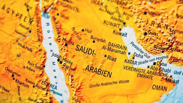 Мапа Арабијског полуострва - Sputnik Србија