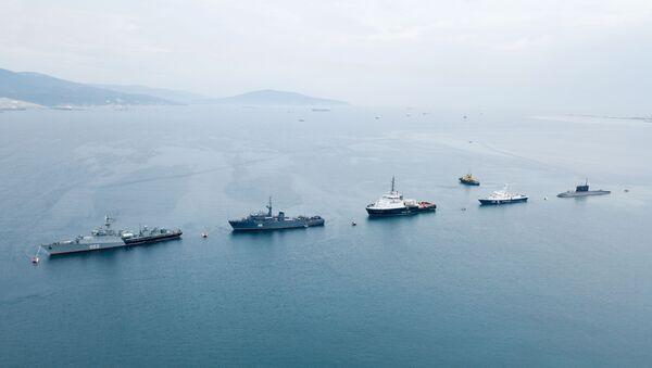 Proba za paradu Dana mornarice u ruskim gradovima - Sputnik Srbija