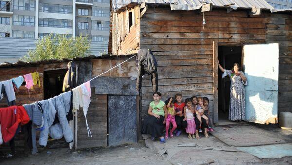 Деца из ромског насеља у Тјумену - Sputnik Србија