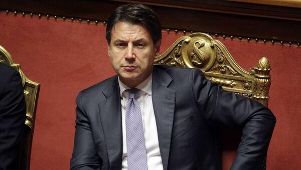 Италијански премијер Ђузепе Конте - Sputnik Србија