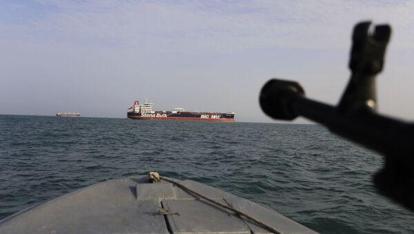Танкер у Персијском заливу - Sputnik Србија
