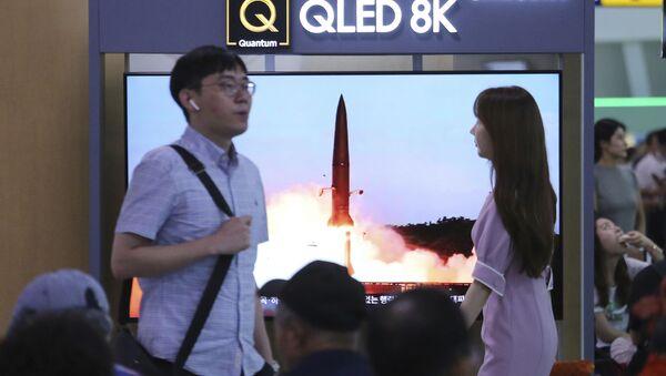 Raketa Severne Koreje - Sputnik Srbija