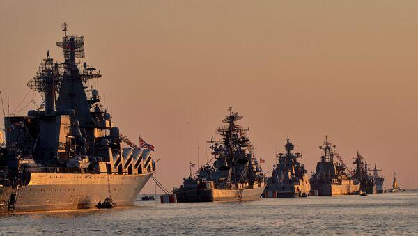 Парада Ратне морнарице Русије - Sputnik Србија