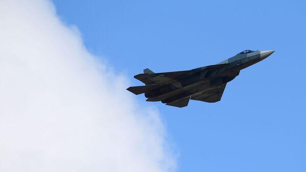Višenamenski lovac Su-57 - Sputnik Srbija