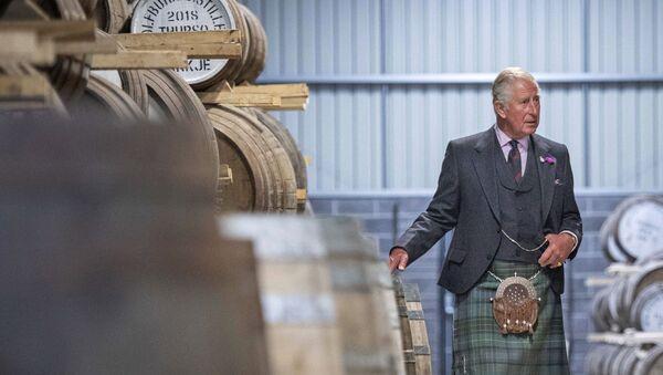 Princ Čarls u poseti vinariji u Škotskoj - Sputnik Srbija