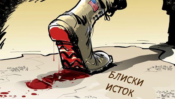 Америчка политика на Блиском истоку - Sputnik Србија