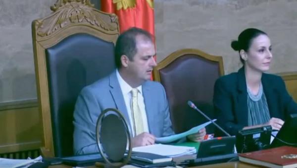 Потпредседник Скупштине Црне Горе Генци Ниманбегу  - Sputnik Србија