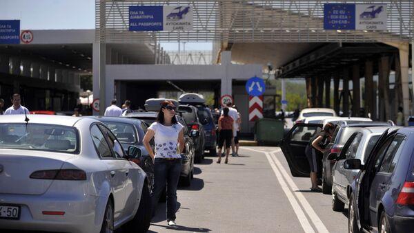 Granični prelaz Evzoni - Sputnik Srbija