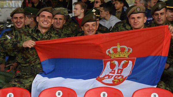 Ekipa srpske vojske na Međunarodnim vojnim igrama Armija 2019  - Sputnik Srbija