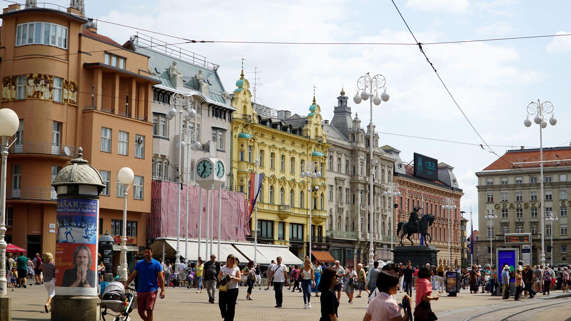 Zagreb - obećani grad za Ukrajince? - Sputnik Srbija, 1920, 14.10.2021
