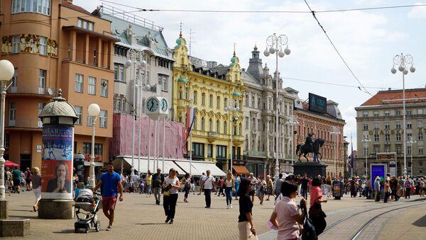 Zagreb - obećani grad za Ukrajince? - Sputnik Srbija