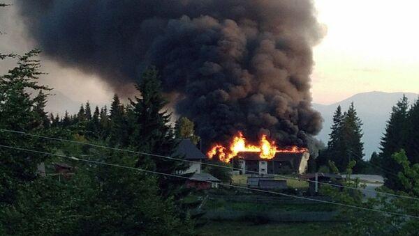 Пожар у Источном Сарајеву - Sputnik Србија