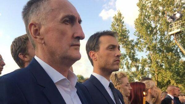 Marko Milačić na obeležavanju godišnjice zločina u Oluji - Sputnik Srbija