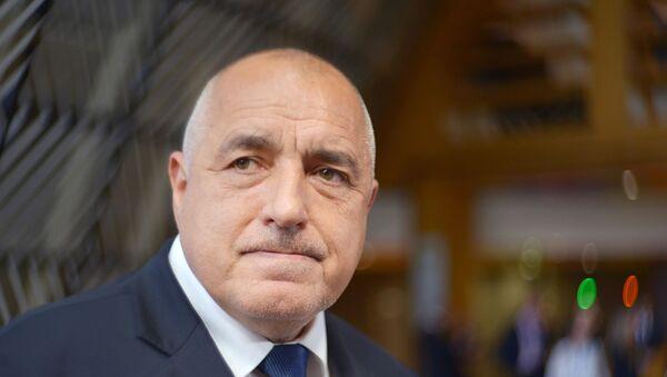 Премијер Бугарска Бојко Борисов - Sputnik Србија