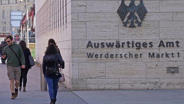 Zgrada Ministarstva spoljnih poslova Nemačke u Berlinu - Sputnik Srbija