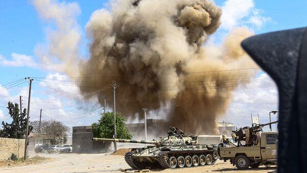 Бомбардовање владиних снага у Либији - Sputnik Србија