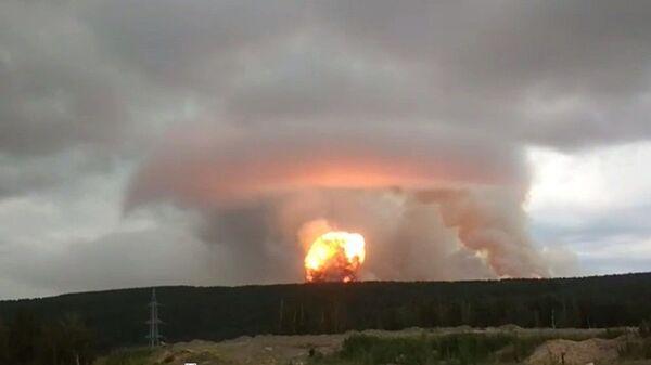 Експлозија у Сибиру - Sputnik Србија