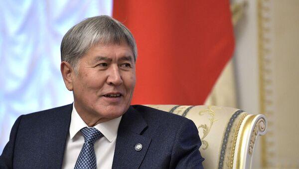 Бивши председник Киргистана Алмбазбек Атамбајев - Sputnik Србија