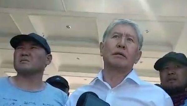 Bivši predsednik Kirgizije Almazbek Atambajev - Sputnik Srbija