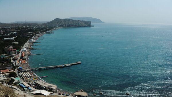 Поглед на обалу Црног мора на Криму - Sputnik Србија