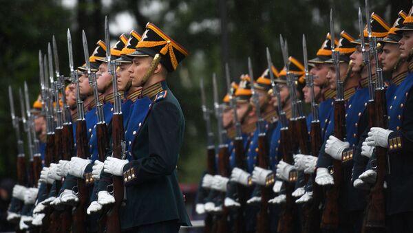 Smotra Predsedničkog konjičkog puka u Moskvi  - Sputnik Srbija